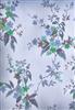 Vintage Blue Flowers-DWJ