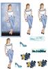 blue jeans lady