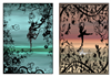 silhouette fairys a5