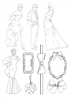 Figures and Embellishments