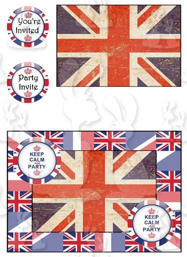 Jubilee (Invite card No 1)