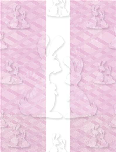 Pink Hanging Hearts Base A5