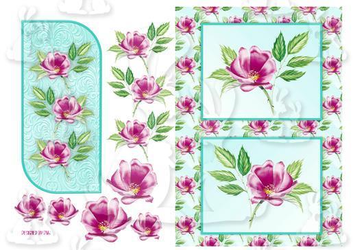 wild rose foldback sheet 2-DWJ