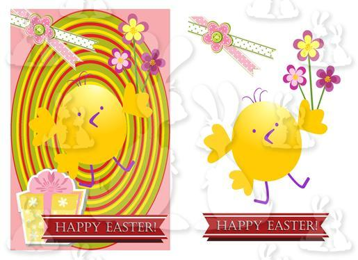 Easter (A5 card No27R)