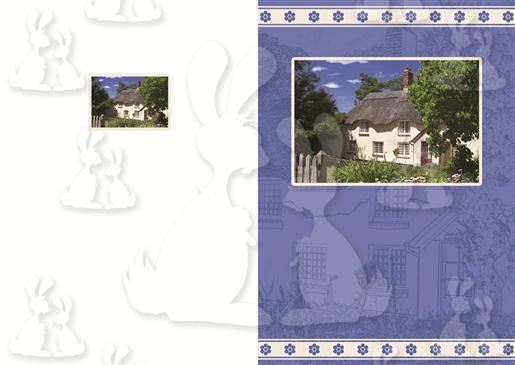Cottage Scene C6 Card