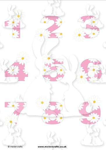 Daisy Chain Pink 1-9