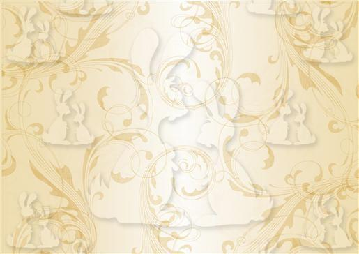 Cream silk Flourish background-DWJ
