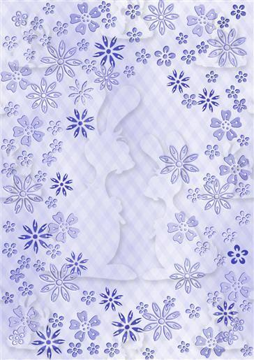 Funky Floral paper 1g-DWJ