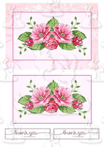 Mothers Day A5 Card Topper Sheet