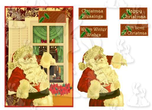 Christmas (A5 card No 2R)