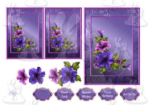 Perfect Petunias 1-DWJ