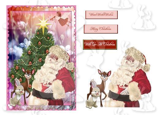 Christmas (A5 Card No 6R)