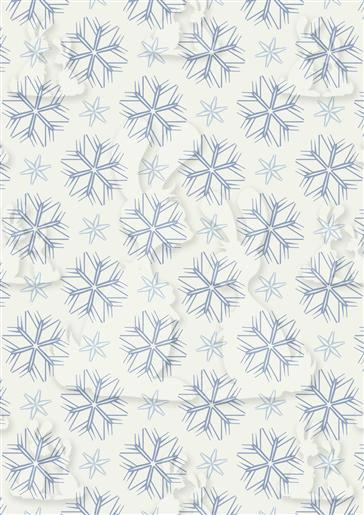 Snowflake Backing Paper