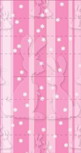 Easter Rabbit Vertical Pop Up (2)