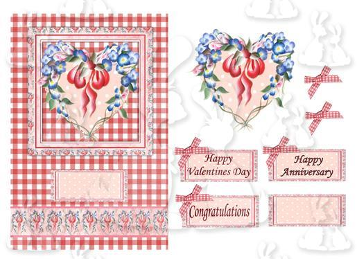 Valentine or anniversary(card No 1V)