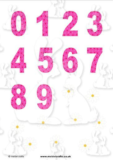 Dotty Hearts numbers