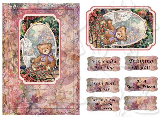 A5 card (Thinking of you No 1)