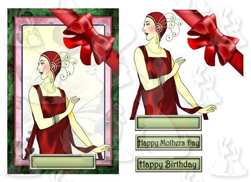 Mothers Day Birthday (card No 8V)