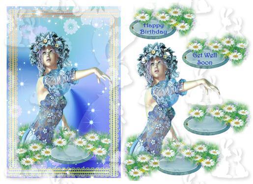Bluebell Spirits( Get well or Birthday)