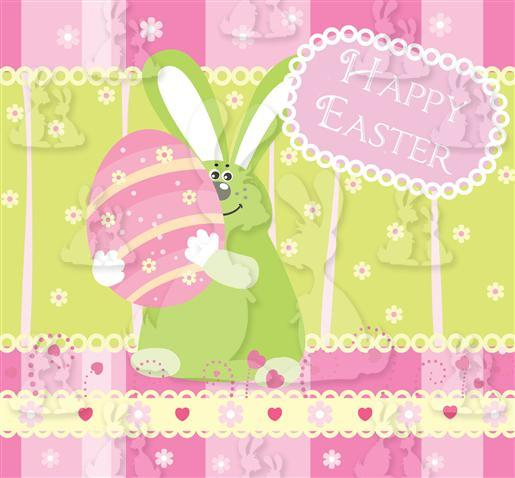 Easter Rabbit Vertical Pop Up (4)
