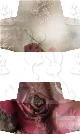 Pink Rose Lid Sides A5