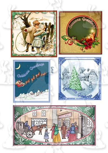 Christmas/Various Styles Topper sheet 1-DWJ