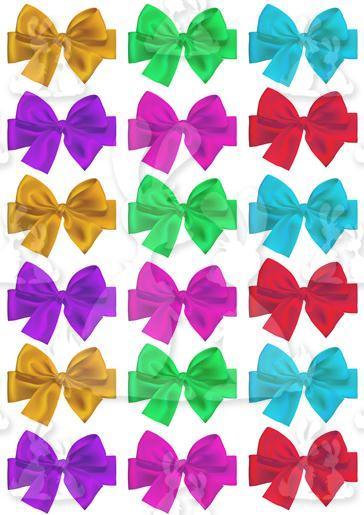 Colourful Bows