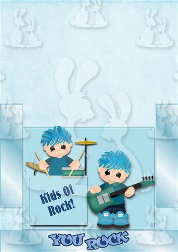 Rock Boys Card