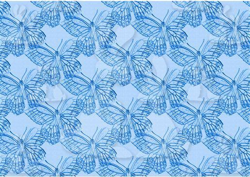 Flutterby Blue [1]Sketchy DWJ