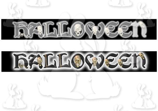 halloween banners  plc