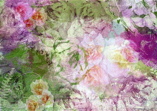Floral background B-DWJ