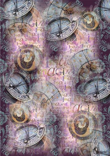 Steampunk background paper