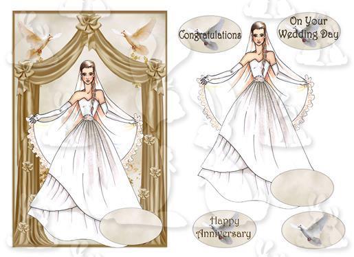 Wedding or Anniversary(A5 card No 66R)
