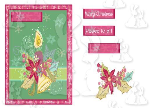 Christmas (A5 Card No 8R)