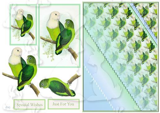 Love Birds Design Sheet-DWJ
