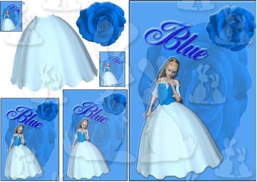 .blue lady