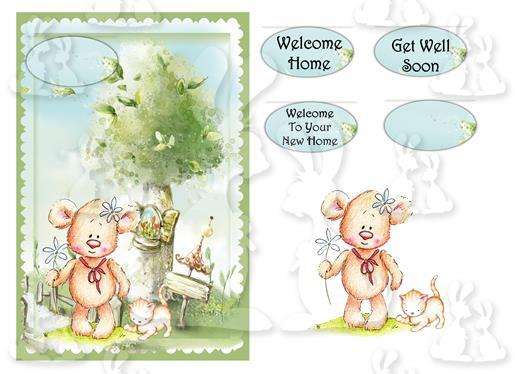 Welcome Home(A5 card No 40R)