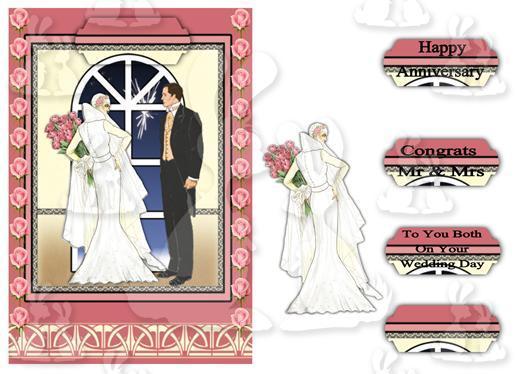 A5 Wedding (card No 10c)