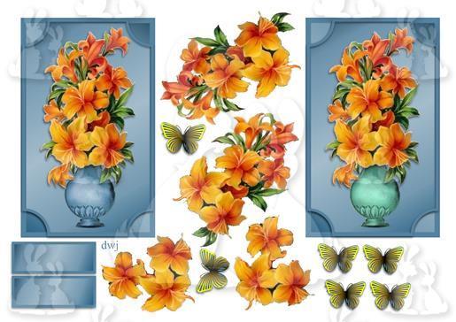 Vase of Lillies-DWJ