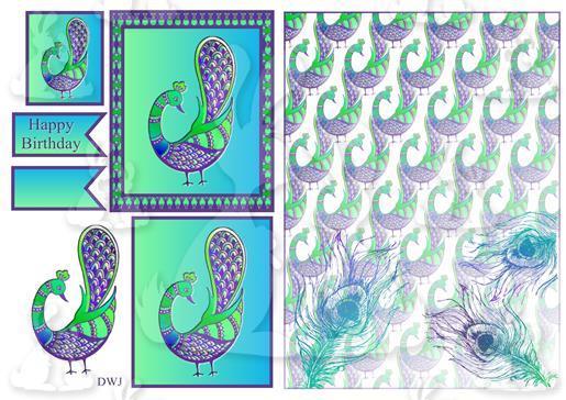 Fantasy Peacock-DWJ