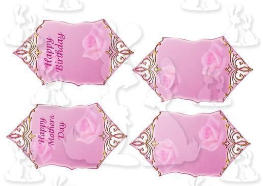 Book pink rose d-DWJ