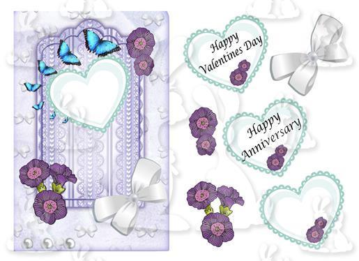 Valentine or anniversary(card No 4V)