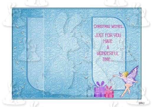 1 Foldback Fairy Christmas kit-DWJ