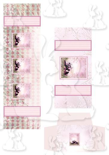 Fairy and Frog Prince Stationery Box Pockets And