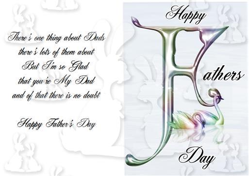 fathers day card with verse plc