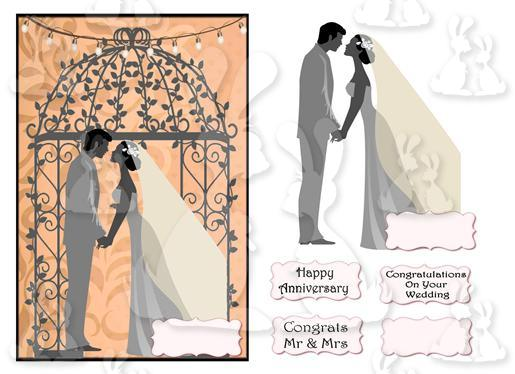 Essential Collections (A5  Wedding card No 3T)