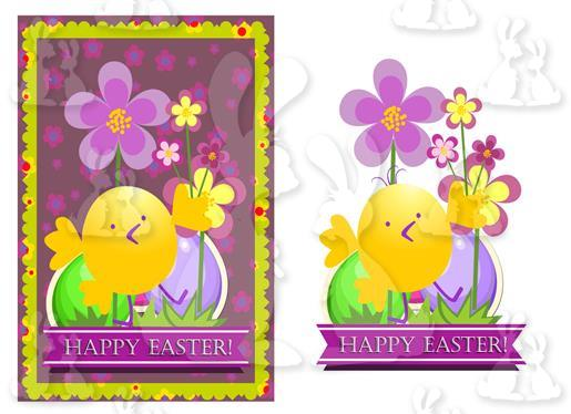 Easter (A5 Card No 7M)