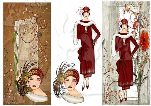 elegant  lady's