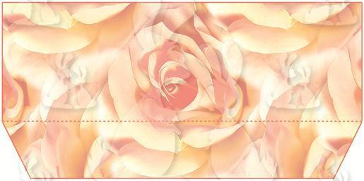 Peach Rose Tunnel Card Box Part B