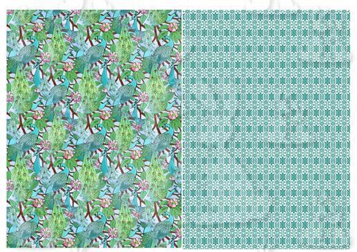 Peacock Sheet 4-DWJ